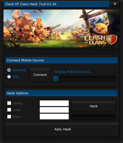 Clash of Clans Hack Tool Paso 2